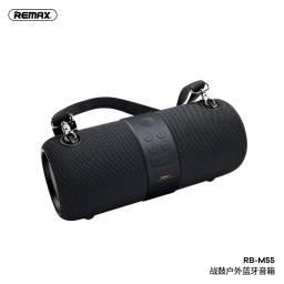 RB-M55   Parlante Bluetooth   14W   Negro   USBAuxTF   Waterproof   RGB   Remax