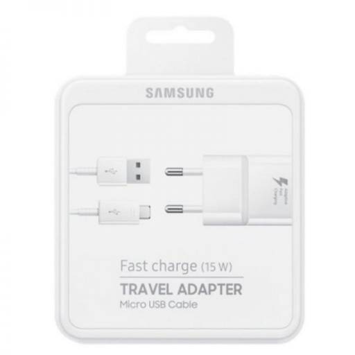 EP-TA20EWE - Cargador Samsung 2A microUSB (Original)