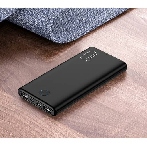 US-CD137 | Power Bank 10.000mAh | Dual in/out | 1A/2.1A | Negro