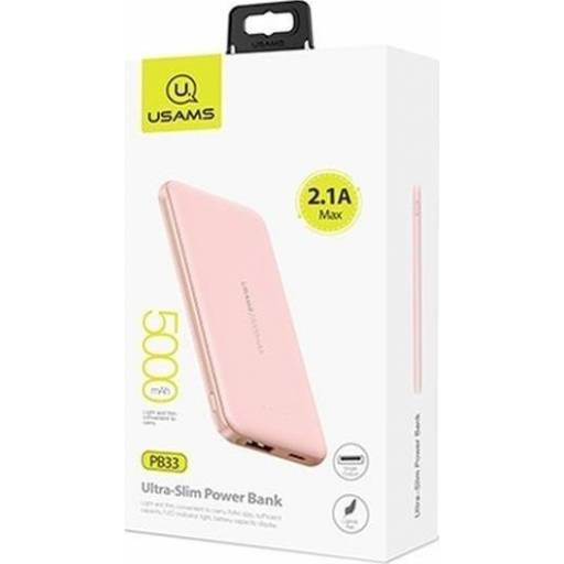 CD96 | Power Bank PB33 | 5000mAh | Rosado