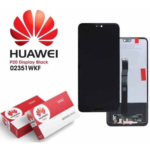 Display Huawei P20 Comp + Negro   Original (02351WKF)