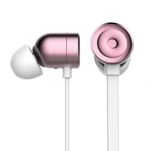 Manos Libres Stereo Gorsun C9 Rose Gold
