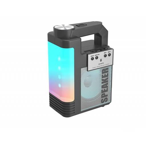 NF4070   Parlante Bluetooth   Negro   FM/USB/SD//TWS   6W   1.800mAh   One+   8435606706834