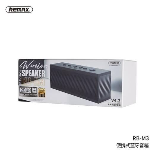 RB-M3 | Parlante Bluetooth | 10W | Negro | Aux/NFC | Negro | Remax