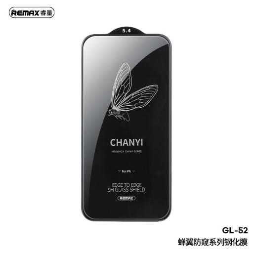 GL-52 | Vidrio Templado | Apple iPhone 12 Mini | Chanyi Series | Negro | Remax