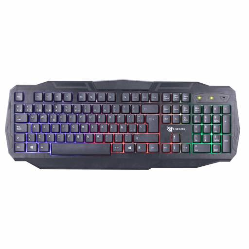 Teclado Gamer | XZZ-TE-01 | Español | USB | RGB | X-Lizzard