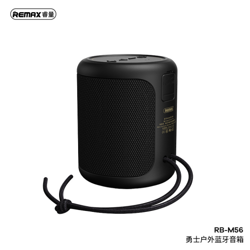 RB-M56   Parlante Bluetooth   10W   Negro   Warriors Series   Remax