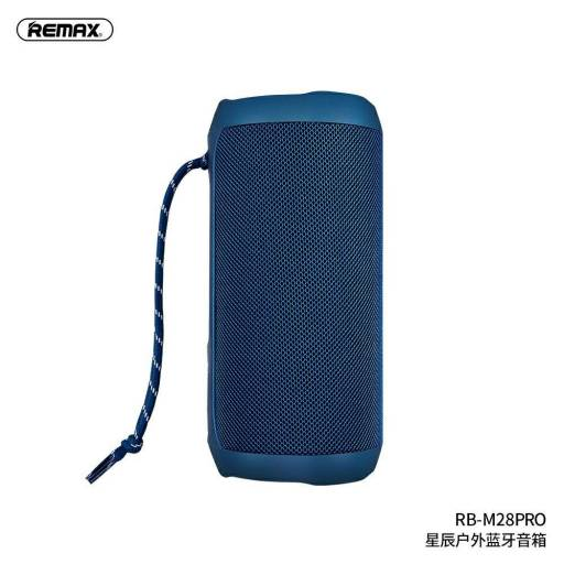 RB-M28 Pro | Parlante Bluetooth | 2x8W | Azul | TWS/Aux/TF | Star Series | Remax