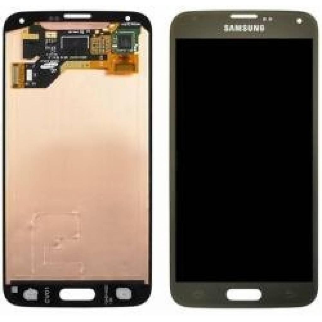 Display Samsung G900/S5 Completo Dorado Generico Repuestos