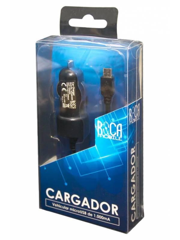Cargador Auto ROCA microUSB 2A