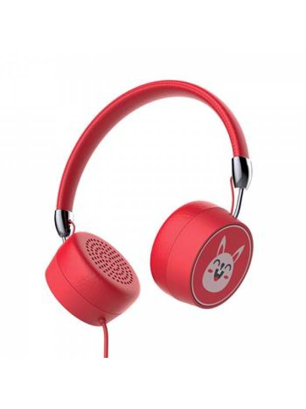 Auricular Stereo Gorsun 771 Rojo