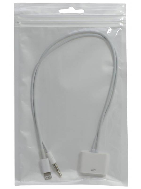 Adaptador con Cables para iPhone 3/4 a iPhone 5/6/6 Plus