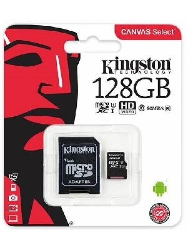 Micro-SD Kingston 128GB Clase 10