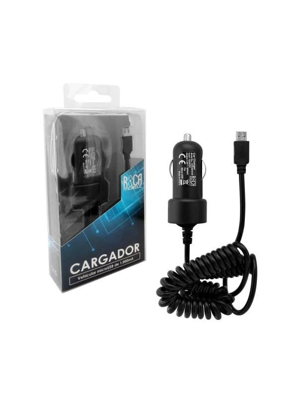 Cargador Auto ROCA microUSB 1A