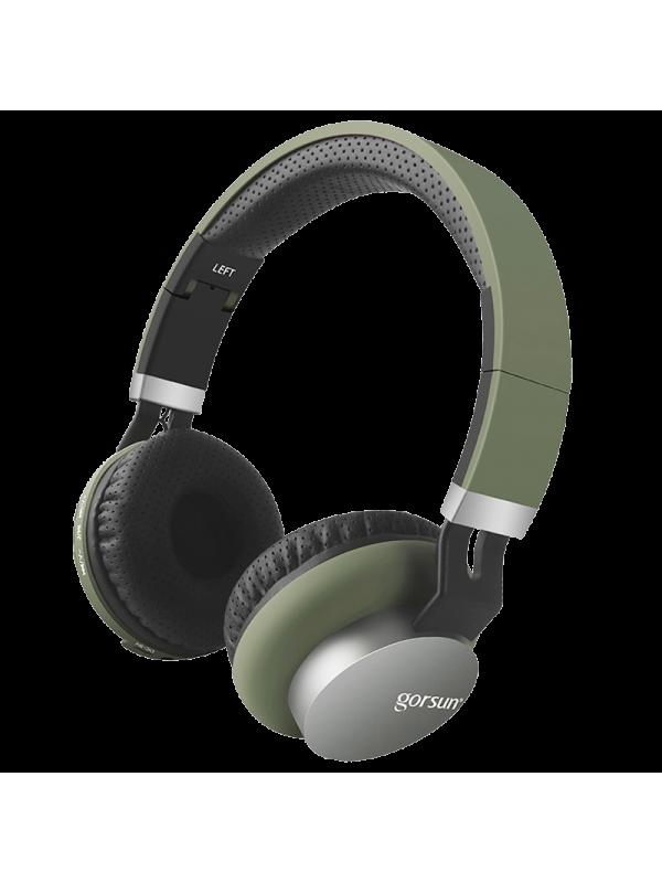 Auricular Bluetooth Gorsun E89 Verde Militar