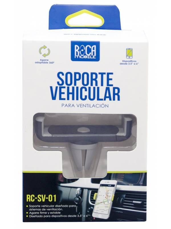 Soporte Vehicular SV01 - Tipo Pinza, para Ventilación