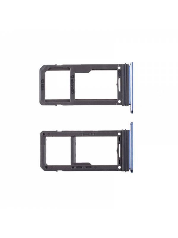 Bandeja SIM Card Samsung G950/S8 Azul