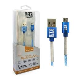 Cable de Datos ROCA microUSB - Premium, 200cm