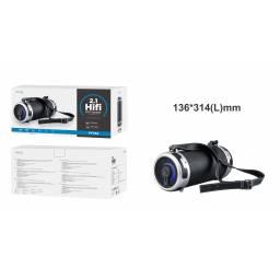 FT734 - Parlante Bluetooth HiFi M.TK 2.1/USB/TF/FM - Negro