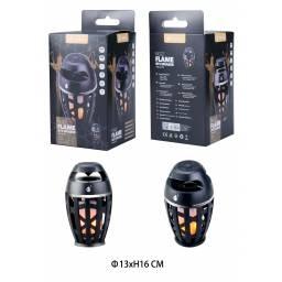 F4322 | Parlante Bluetooth | 3W | Negro | TWS | microSD/FM/USB | Luces