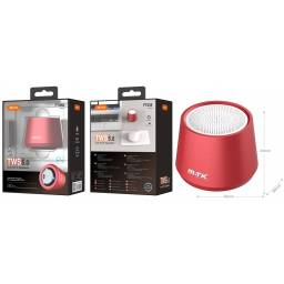 FT058 | Parlante Bluetooth | 4W | TWS | Rojo