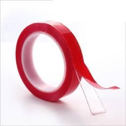 Cinta doble faz Roja 3M de 0.2cm