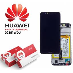 Display Huawei Honor 7A Comp c/M + Batería Negro | Original (02351WDU)