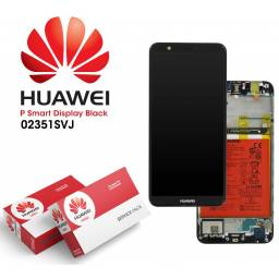 Display Huawei P Smart Comp c/M + Batería Negro | Original (02351SVJ/02351SVK)