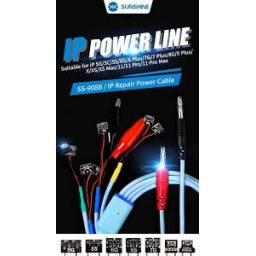 SS-908B - Cable para fuente ajustable especial para iPhone