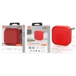 NF4061   Parlante Bluetooth  3W  Rojo  TWS/300mAh/FM/SD/USB/Aux