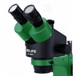 Cabezal trinocular Microscopio Relife