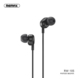 RW-105 | Auriculares Stereo | 3,5mm | Negro | Music | Remax