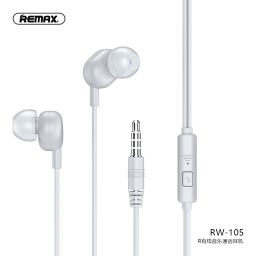 RW-105 | Auriculares Stereo | 3,5mm | Blanco | Music | Remax