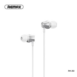 RM-202 | Manos Libres | 3,5mm | Blanco | Deep Bass | Remax