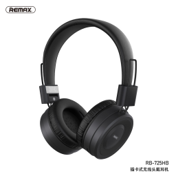 RB-725HB   Auricular Bluetooth   Negro   TF   Remax