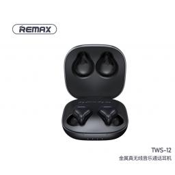 TWS-12 | Auricular Bluetooth TWS | Negro | Remax