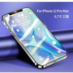 BH638 | Vidrio Templado | Apple iPhone 12 Pro Max | 6,7''/0,33mm | Negro | USAMS