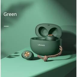 ES Series | Auriculares Bluetooth | Verde | Deportivo | USAMS