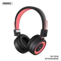 RB-725HB | Auricular Bluetooth | Rosado | TF | Remax