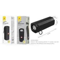 NF4064   Parlante Bluetooth  Negro  FM/USB/SD/Aux  2x3W  1.200mAh  One+  8435606703178