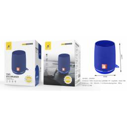NF4065 | Parlante Bluetooth | Azul | FM/USB/SD/Aux/TWS | 5W | 500mAh | One+ | 8435606703208