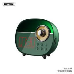 RB-M50 | Parlante Bluetooth | 3W | Verde | MicrófonoAlarmaAuxTFFM | Tyard Desktop | Remax