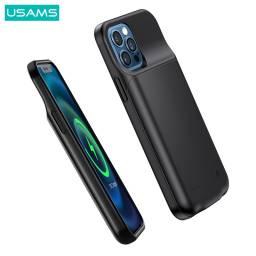 CD156 | Power Case para Apple iPhone 12 Mini | 2500mAh | Negro