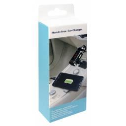 Transmisor FM para auto c/ Bluetooth