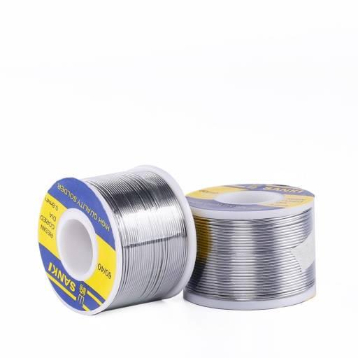 Bobina de Estaño SANKI | 0,6mm | 200g