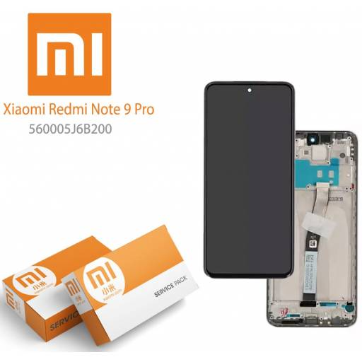 Display Xiaomi Redmi Note 9 Pro Comp c/M Azul | Original (560005J6B200)