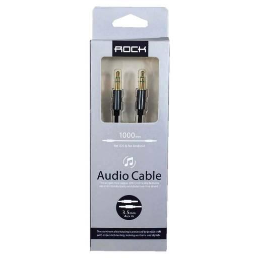 Cable Auxiliar | 100cm | Negro | RAU0509