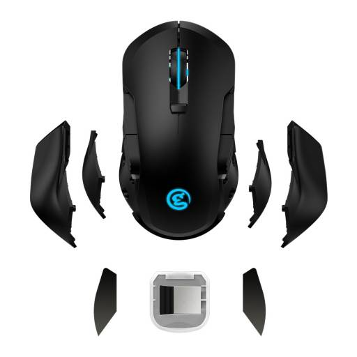 GM300   Mouse Gamer Mecánico Inalámbrico   GameSir