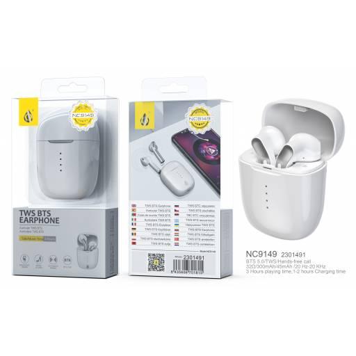 NC9149   Auricular Bluetooth TWS   45mAh   Blanco