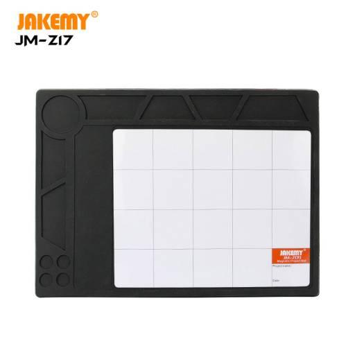 Z17 | Manta de silicona c/ grilla | Resistente al calor | 300ºC | 36x26cm